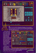 Dungeon Master Amiga Back Cover