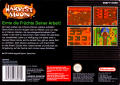 Harvest Moon SNES Back Cover