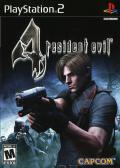 Resident Evil 4 PlayStation 2 Front Cover