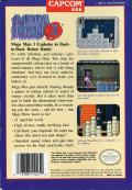 Mega Man 3 NES Back Cover