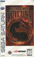 Mortal Kombat Trilogy SEGA Saturn Front Cover