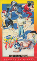Final Fight SEGA CD Front Cover