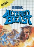 Altered Beast SEGA Master System Front Cover