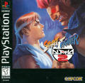 Street Fighter Alpha 2 PlayStation Front Cover