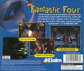 The Fantastic Four PlayStation Back Cover