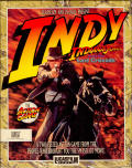 Indiana Jones and the Last Crusade: The Action Game Amiga Front Cover