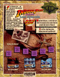 Indiana Jones and the Last Crusade: The Action Game Amiga Back Cover