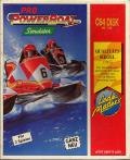 Pro Powerboat Simulator Commodore 64 Front Cover