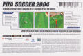 FIFA Soccer 2004 N-Gage Back Cover