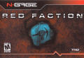 Red Faction N-Gage Front Cover