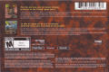 Red Faction N-Gage Back Cover