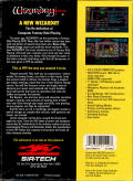 Wizardry: Bane of the Cosmic Forge Amiga Back Cover