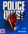 Police Quest 3: The Kindred Amiga Front Cover