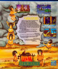 The Humans Amiga Back Cover