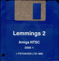 Lemmings 2: The Tribes Amiga Media Disk 1/3