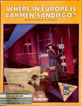 Where in Europe is Carmen Sandiego? Amiga Front Cover