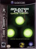 Tom Clancy's Splinter Cell: Chaos Theory (Limited Collector's Edition) GameCube Front Cover
