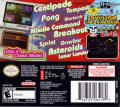 Retro Atari Classics Nintendo DS Back Cover