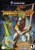 Dragon's Lair 3D: Return to the Lair GameCube Front Cover