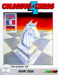 Colossus Chess 4 Atari 8-bit Front Cover