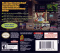 Space Invaders Revolution Nintendo DS Back Cover