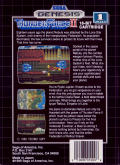 Thunder Force II Genesis Back Cover