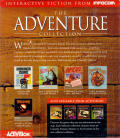 The Adventure Collection DOS Back Cover