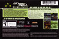 Tom Clancy's Splinter Cell N-Gage Back Cover