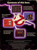 Ghostbusters Commodore 64 Back Cover