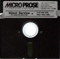 Silent Service Atari 8-bit Media Two-Sided Disk (C64 & 128 front/Atari 8-Bit back)
