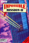 Impossible Mission II Commodore 64 Front Cover