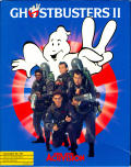 Ghostbusters II Commodore 64 Front Cover