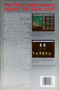 Phantasie III : The Wrath of Nikademus Commodore 64 Back Cover