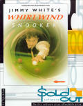 Jimmy White's Whirlwind Snooker DOS Front Cover