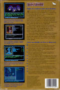 Curse of the Azure Bonds Commodore 64 Back Cover