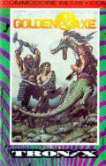 Golden Axe Commodore 64 Front Cover