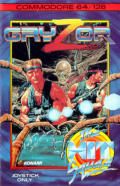 Contra Commodore 64 Front Cover