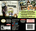 Touch Detective Nintendo DS Back Cover