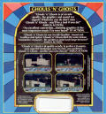 Ghouls 'N Ghosts Amiga Back Cover