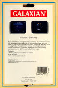 Galaxian Commodore 64 Back Cover