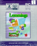 Lemmings for Windows 95 & Lemmings Paintball Windows Front Cover
