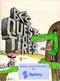 BC's Quest for Tires Atari 8-bit Front Cover