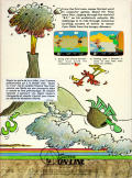 BC's Quest for Tires Atari 8-bit Back Cover