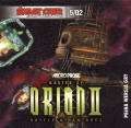 Master of Orion II: Battle at Antares DOS Front Cover