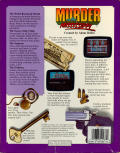 Murder on the Mississippi Commodore 64 Back Cover