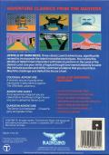 Jewels of Darkness Commodore 64 Back Cover