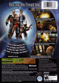TimeSplitters: Future Perfect Xbox Back Cover