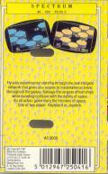 Collision Course ZX Spectrum Back Cover