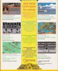 Centurion: Defender of Rome Amiga Back Cover