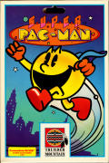 Super Pac-Man Commodore 64 Front Cover
